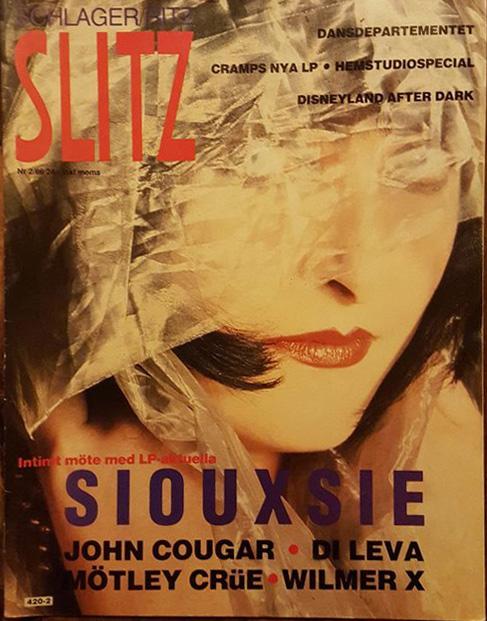 Omslaget till Slitz #1986-02