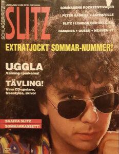Omslaget till Slitz #1986-05/06