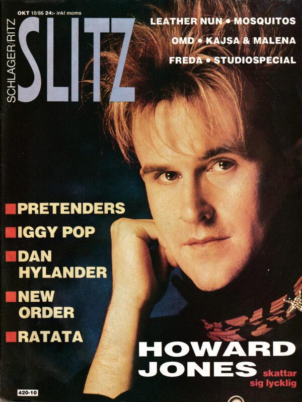 Omslaget till Slitz #1986-10