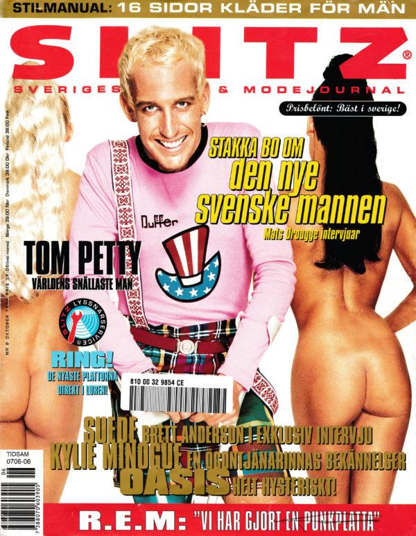 Omslaget till Slitz #1994-06