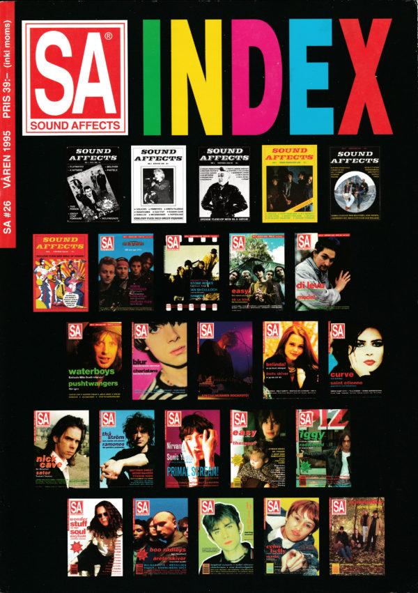 Omslaget till Sound Affects #26 (1995)