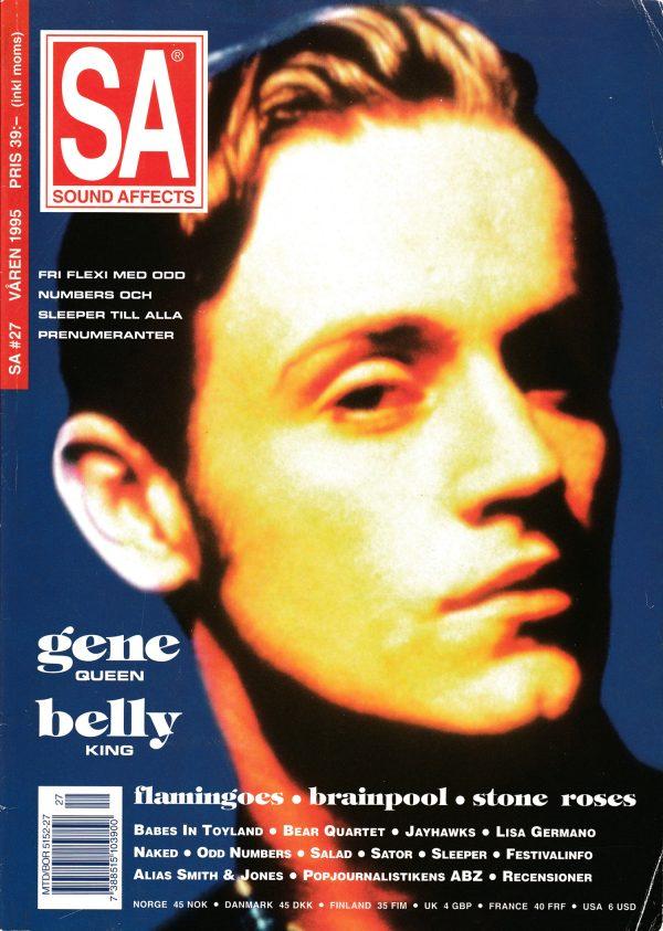 Omslaget till Sound Affects #27 (1995)