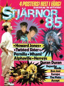 Omslaget till Stjärnor 85