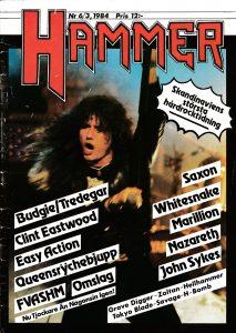 Omslaget till The Hammer #1984-3