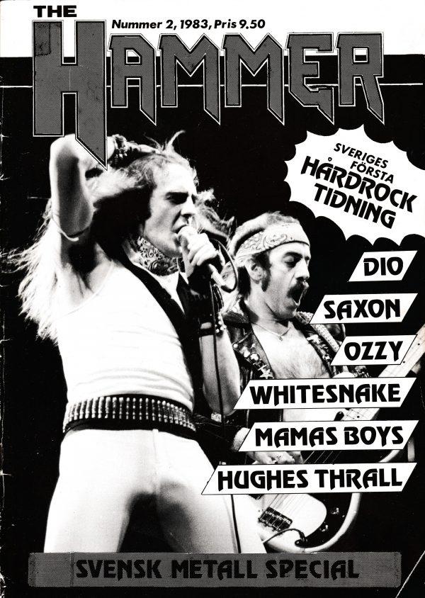 Omslaget till The Hammer #1983-02