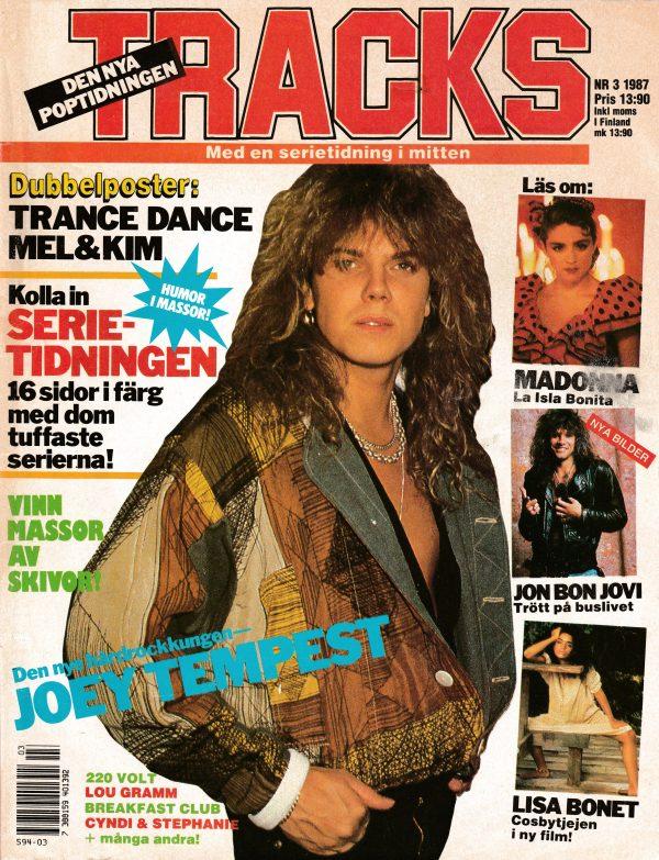 Omslaget till Tracks #1987-03