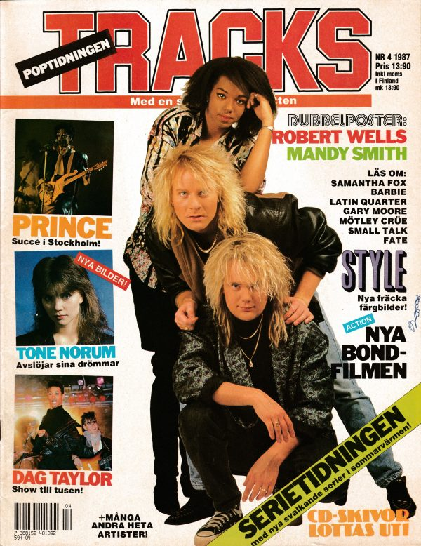Omslaget till Tracks #1987-04