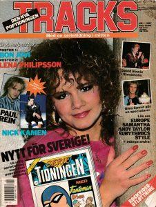 Omslaget till Tracks #1987-01
